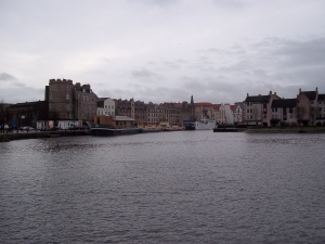 Leith's had a bit of a facelift, Edinburgh, Water of Leith